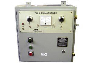 Model 750-3 Demagnetize